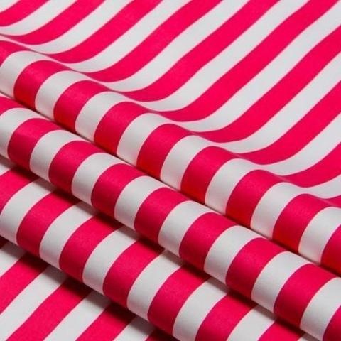 Где используются ткани в полоску?