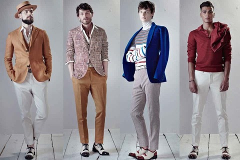 Одежда и ткани в стиле «Элегантная повседневность»