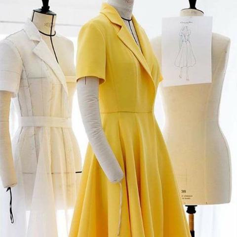 Какую ткань выбрать лучше для пошива платья