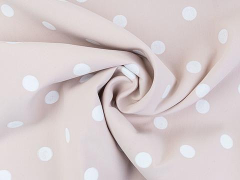 Ткань MASTER POLKA PRT-D02 C001(pink-white)