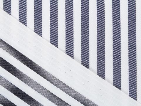 Ткань DOUBLE FACE STP-D01 C003(black-navy)