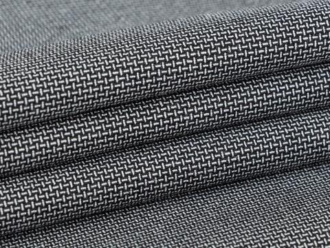 Ткань BROOKS MIC LYC-D06 C001(black-white)