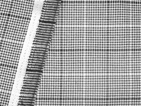 Ткань BROOKS CHK LYC-D02 C001(black-white)
