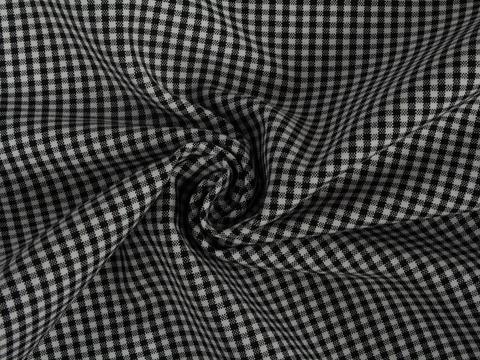 Ткань COOKS CHK-D01 C001(black-white)