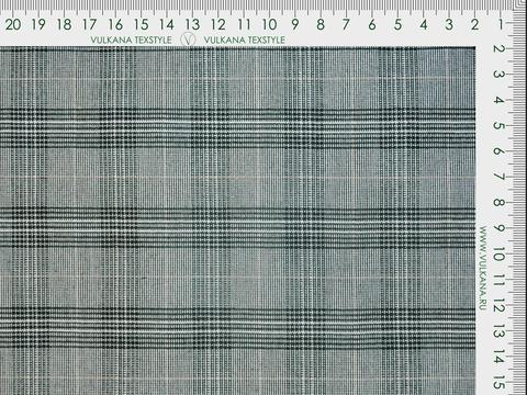 Ткань BROOKS CHK LYC-D03 C001(black-white)
