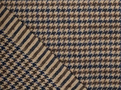 Ткань CHANEL CHK-D01 C001(tan-blue)