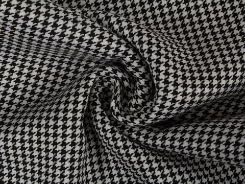 Ткань COOKS CHK-D03 C001(black-white)