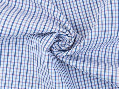Ткань KOOLTEX CHK-D01 C001(white-blue)