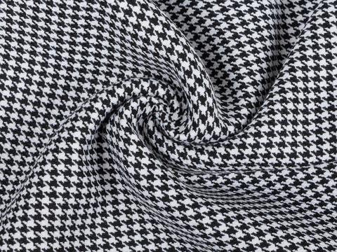 Ткань CHANEL CHK LYC-D01 C001(black-white)