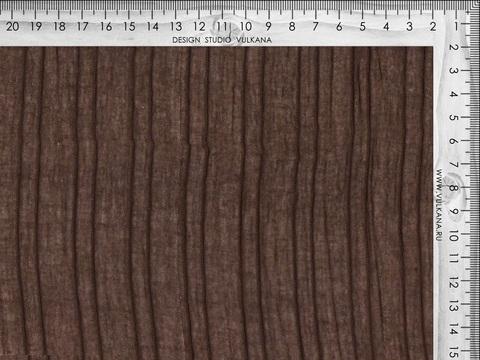 Ткань COTTON RAB BROWN