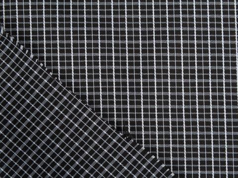 Ткань LOTUS CHK-D01 C002(black-white)