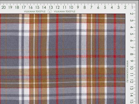 Ткань BULLET PROOF CHK-D04 C001(grey-brown)