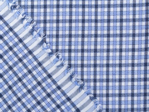 Ткань BULLET PROOF CHK-D05 C001(navy-blue)