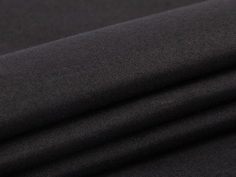 Ткань BRILLIANT PLAIN LYC-C002(black)